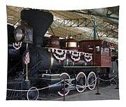 Tahoe Steam Locomotive Tapestry
