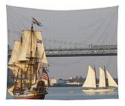 Tall Ship Six Tapestry