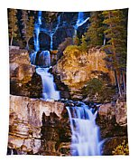 Tangle Falls At Dusk, Jasper National Tapestry