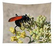 Tarantula Hawk Wasp Tapestry