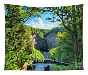 Taughannock Falls Overlook Tapestry
