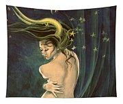 Taurus From Zodiac Series Tapestry