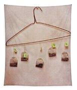 Tea Bags Tapestry by Priska Wettstein