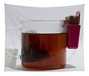 Tea Cup With Cookie Bag Tapestry