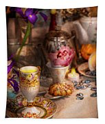 Tea Party - The Magic Of A Tea Party  Tapestry