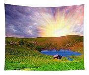 Tea Plantation Tapestry