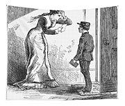 Telegram: Death, 1879 Tapestry