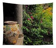 Temple And Garden Urn, The Wild Garden Tapestry