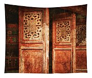 Temple Door Tapestry