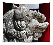 Temple Guard Tapestry