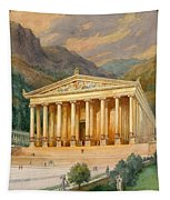Temple Of Diana Tapestry