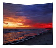 Ten Minutes On The Beach  Tapestry