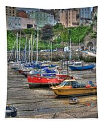 Tenby Harbour In Summer 3 Tapestry