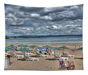 Tenby North Beach 3 Tapestry