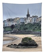 Tenby Over North Beach Tapestry