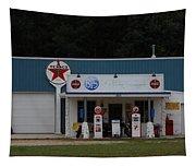 Texaco Gas Station Tapestry