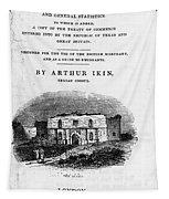 Texas: Guidebook, 1841 Tapestry