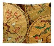 Thai Umbrellas 2 Tapestry