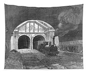 Thames Tunnel: Train, 1869 Tapestry
