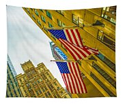 The American Flag Tapestry