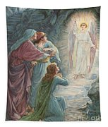 The Appearance Of The Angel Tapestry