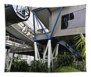 The Area Below The Capsules Of The Singapore Flyer Tapestry