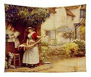 The Ballad Seller Tapestry
