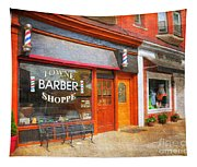 The Barber Shop Tapestry
