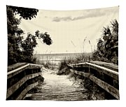 The Beach Path - Clearwater Beach Tapestry