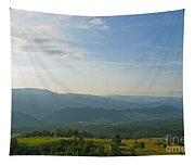 The Blue Ridge Mountains In July 01 Tapestry