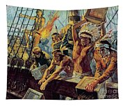 The Boston Tea Party Tapestry