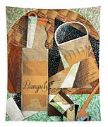 The Bottle Of Banyuls Tapestry