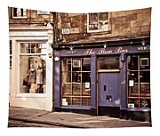 The Bow Bar. Edinburgh. Scotland Tapestry