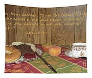 The Bread Of Life Tapestry