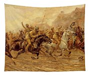 The Charge Of The Bengal Lancers At Neuve Chapelle Tapestry