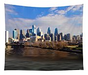 The City Of Brotherly Love Tapestry