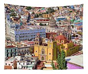 The City Of Guanajuato Tapestry
