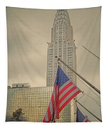 The Colors Flying In New York Tapestry