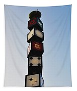 The Continental Diner Dice Tapestry