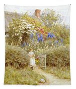 The Cottage Gate Tapestry