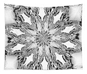 The Crystal Snow Flake Tapestry