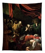 The Death Of The Virgin Tapestry by Caravaggio
