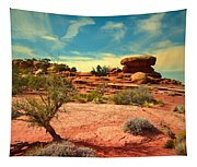 The Desert And The Sky Tapestry