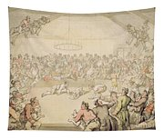 The Dog Fight Tapestry
