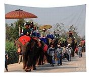The Elephant Parade Tapestry