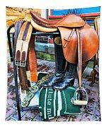 The English Saddle Tapestry