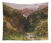 The Falls Of Tivoli Tapestry