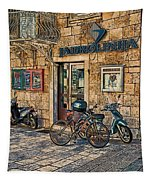 The Ferry Ticket Office Corfu Croatia Tapestry