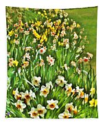 The Flower Bed Tapestry