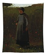 The Flowers Of The Field Tapestry